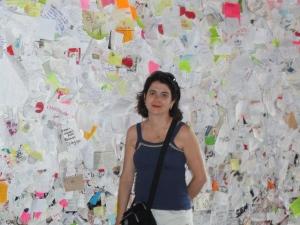O muro das cartas da casa de Julieta